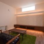 新潟市西蒲区「書庫のあるフルハイトドアの家」住宅完成見学会