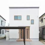 ハーバーハウスの施工事例 「シンプルモダン・完全2世帯住宅の明るい家」(MIRAI)