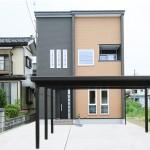 上越市「アイアン階段・造作家具・ロフトのあるシンプルモダンの家」住宅完成見学会