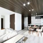 ハーバーハウスの施工事例 「上下階の生活音に配慮した、玄関共用型の二世帯住宅」(MIRAI)