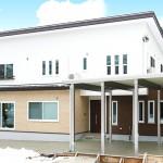 ハーバーハウスの施工事例 「雪国でも安心の設備搭載、玄関共用型の二世帯住宅」(MIRAI)