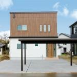 ハーバーハウスの施工事例 「将来を考えた、家族思いの共有型二世帯住宅」(GRANDE)