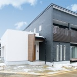 長岡市上条高畑「REVELTA 長期優良住宅仕様のインナーガレージハウス」