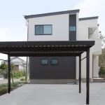 新潟市秋葉区中沢町「家事のしやすさを重視!シンプルモノトーンハウス」住宅完成見学会