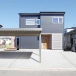 新潟市西区みずき野「ORGA 吹抜け×鉄骨階段 ウッドデッキのある開放感抜群の家」 住宅完成見学会