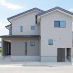 新潟市西区小針「MIRAI 大空間LDKとテラスで家族団らん 共有型二世帯住宅」住宅完成見学会