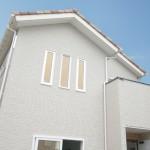新潟市中央区柳島町「バルコニーから景色を望む、切妻屋根の南欧風ハウス」住宅完成見学会