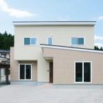 長岡市親沢町「MIRAI 無垢床の質感が心地良い共有型二世帯住宅」住宅完成見学会