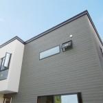 新潟市北区太夫浜「鉄骨階段とフロートTVボードのある広々リビングの家」住宅完成見学会