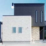 新潟市江南区亀田中島「施主様セレクトのアクセントクロスが光る高性能外壁の家」住宅完成見学会