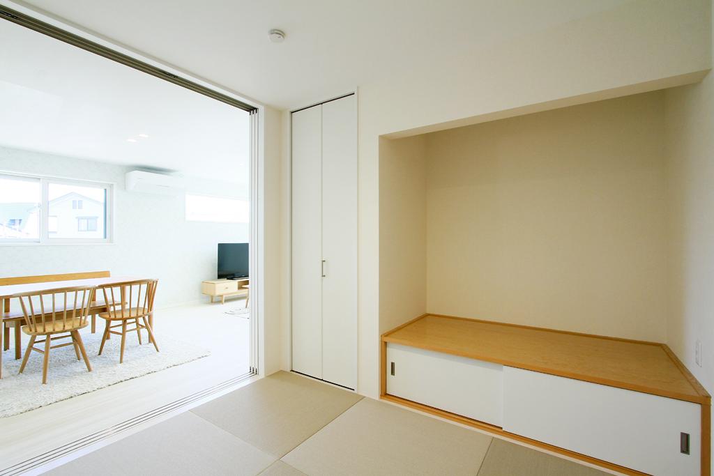 ハーバーハウスの新築 家づくり 事例「VISTA 店舗併用3階建て二世帯住宅」(VISTA)