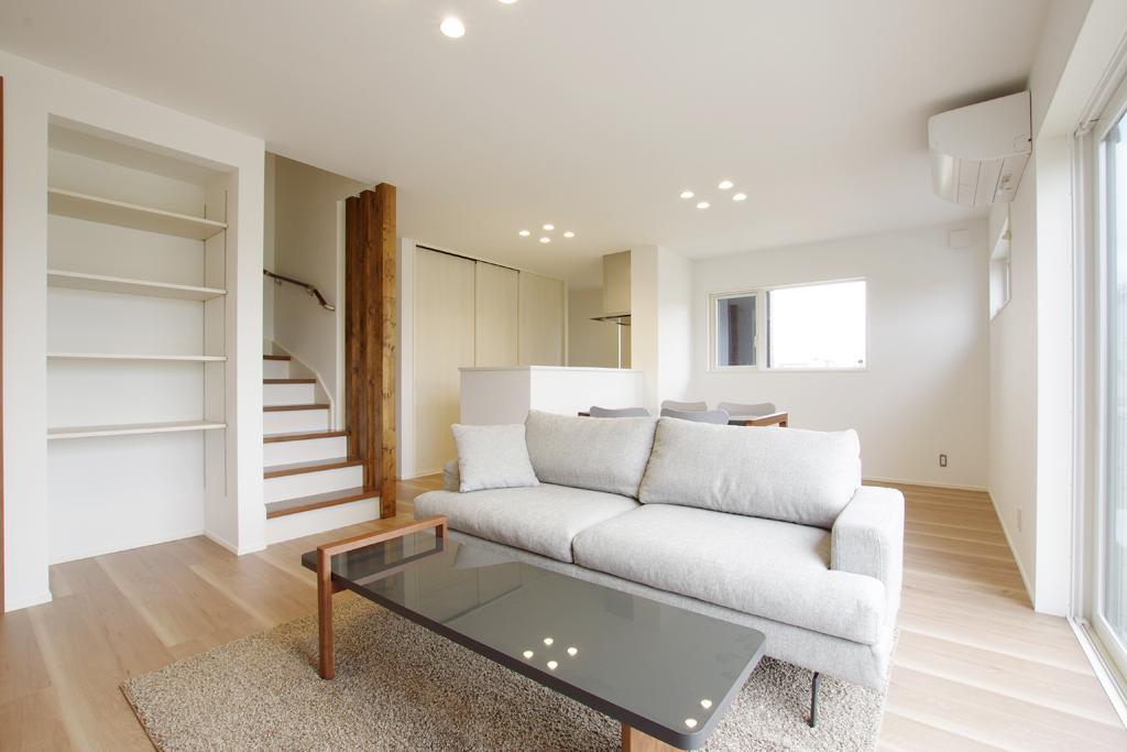 ハーバーハウスの新築 家づくり 事例「造作充実!愛犬にやさしいペットと暮らす家」(IZU)