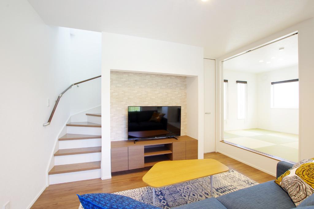 ハーバーハウスの新築 家づくり 事例「中庭スペースのあるコの字型の家」