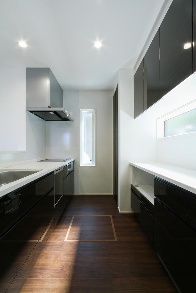 ハーバーハウスの新築 家づくり 事例「敷地を有効活用したL字型のシンプルモダンハウス」(EXY)