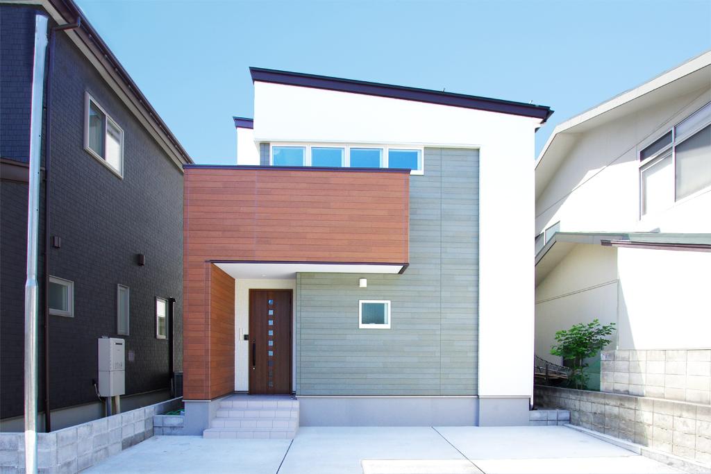 ハーバーハウスの新築 家づくり 事例「ラスティックな外観のナチュラルハウス」