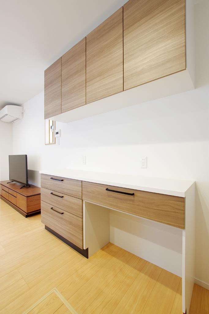 ハーバーハウスの新築 家づくり 事例「家事ラク動線の5LDKの家」