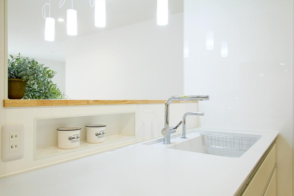 ハーバーハウスの新築 家づくり 事例「採光とプライベートを確保したLDKの家」