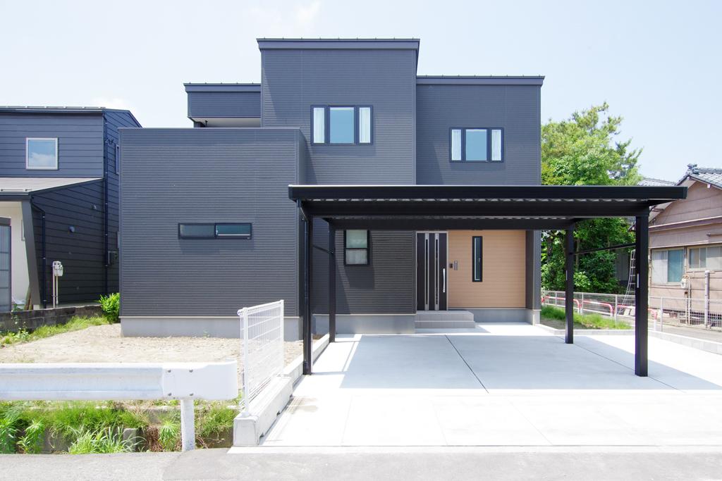 ハーバーハウスの新築 家づくり 事例「各所に収納を組み込んだ家事ラク動線の家」