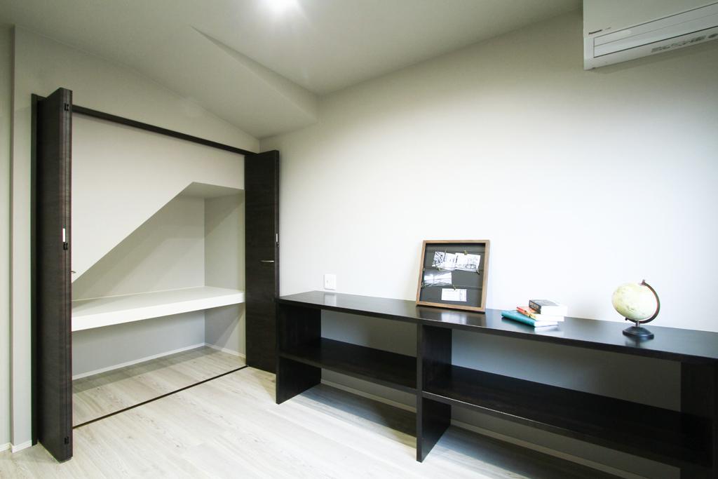 ハーバーハウスの新築 家づくり 事例「モダンスタイリッシュ ブラックボックスタイプの家」