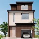 新潟市中央区沼垂西「VISTA 敷地を有効活用した都市型3階建て住宅」住宅完成見学会