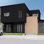 五泉市水島町「ORGA スタイリッシュなファサードと広々LDKの家」住宅完成見学会
