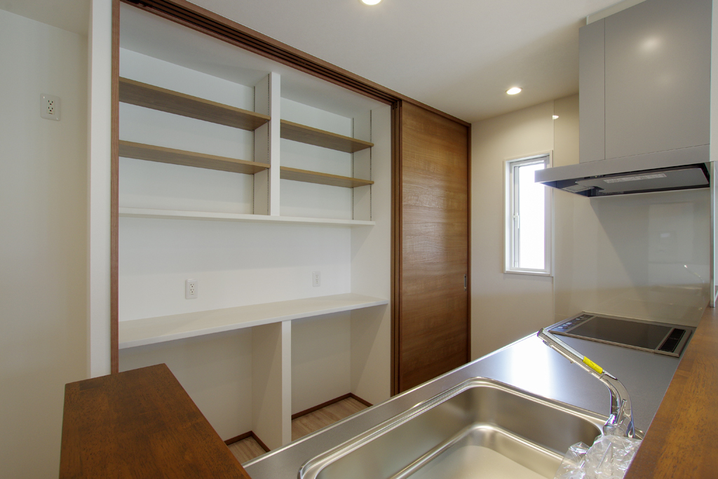 ハーバーハウスの新築 家づくり 事例「【全開放】できる大きな窓で開放感たっぷりなLDKの家」