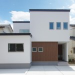 新潟市江南区砂岡「MIRAI 和モダンテイストの水回り共有型二世帯住宅」住宅完成見学会