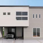 新潟市東区材木町「REVELTA 造作ベンチのある2階LDKのインナーガレージハウス」住宅完成見学会