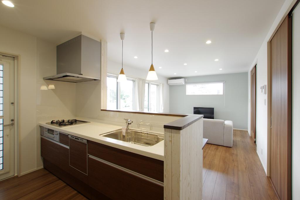 ハーバーハウスの新築 家づくり 事例「敷地を最大限に利用したコンパクトハウス」