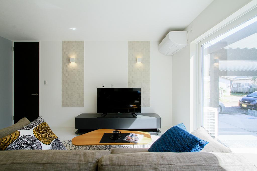 ハーバーハウスの新築 家づくり 事例「プライベートな庭スペースのあるモノトーンカラーでまとめたスタイリッシュハウス」