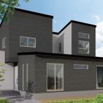 五泉市木越「中庭のある スタイリッシュなテラスハウス」住宅完成見学会
