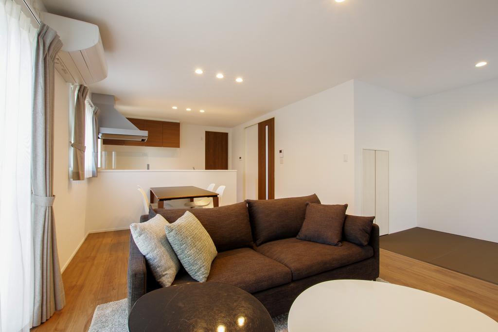 ハーバーハウスの新築 家づくり 事例「コンパクトな家事動線の暮らしやすい家」