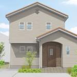 五泉市石曽根「RONA 家事ラクの工夫を取り入れた南欧風ハウス」住宅完成見学会