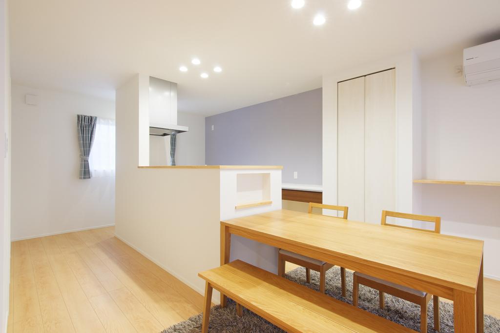 ハーバーハウスの新築 家づくり 事例「ママに嬉しい抜群の収納力!大空間の家事ラクハウス」