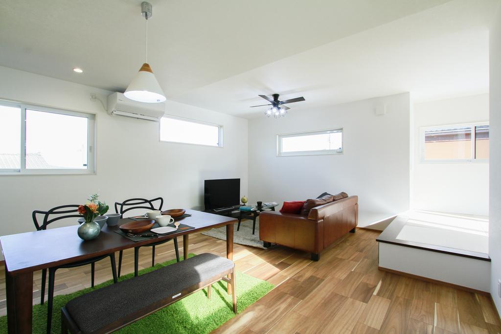 ハーバーハウスの新築 家づくり 事例「外の景色をゆったり眺める 2階LDKの家」(IZU)