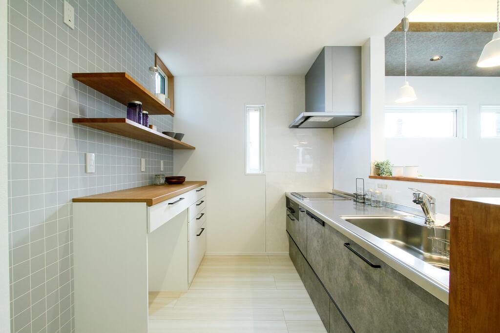 ハーバーハウスの新築 家づくり 事例「MIRAI 中庭のある完全分離型二世帯住宅」(MIRAI)