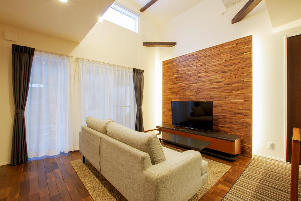 ハーバーハウスの新築 家づくり 事例「暮らしを楽しむ工夫をギュッと凝縮!無垢床リビングのある家」
