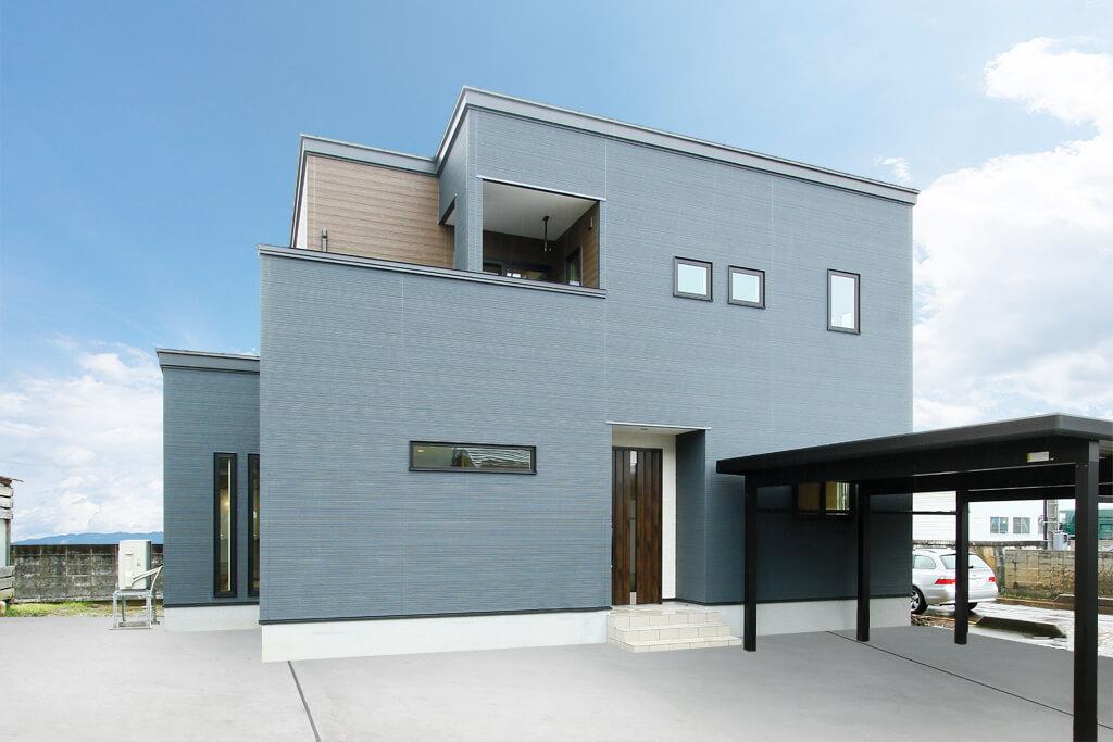 ハーバーハウスの新築 家づくり 事例「水回りを直線上に集約!スイスイ動ける家事ラク動線の家」