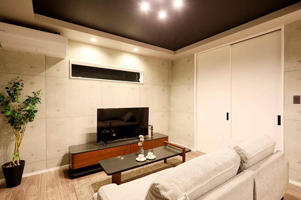 ハーバーハウスの新築 家づくり 事例「毎日ゆったり まるでカフェ&バーのお家」