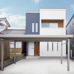 新潟市中央区堀之内南「2階LDKを活かした勾配天井の広々空間の家」住宅完成見学会