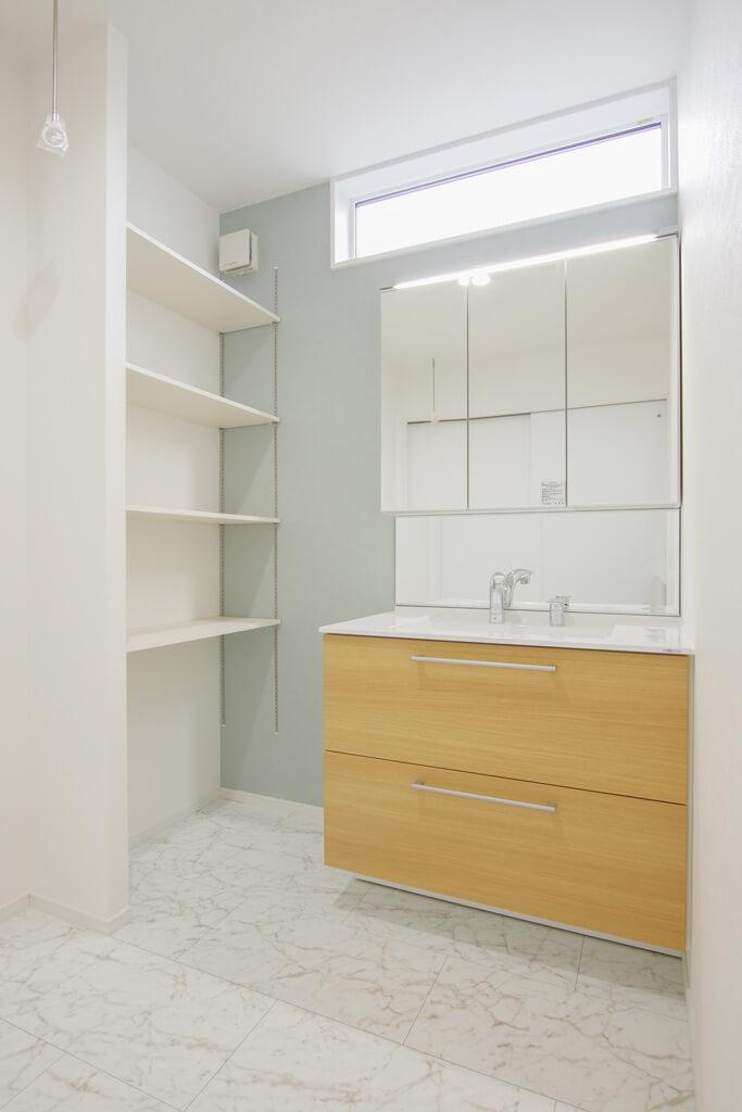 ハーバーハウスの新築 家づくり 事例「2階LDKを活かした勾配天井の広々空間の家」