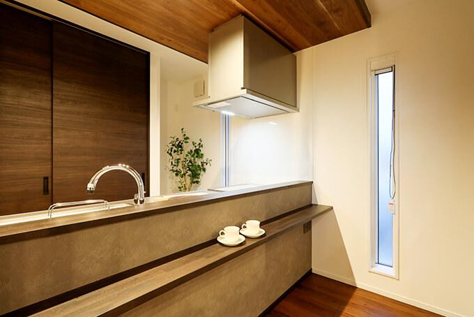 ハーバーハウスの新築 家づくり 事例「REVELTA まるでおうちカフェ!落ち着いた雰囲気のガレージハウス」