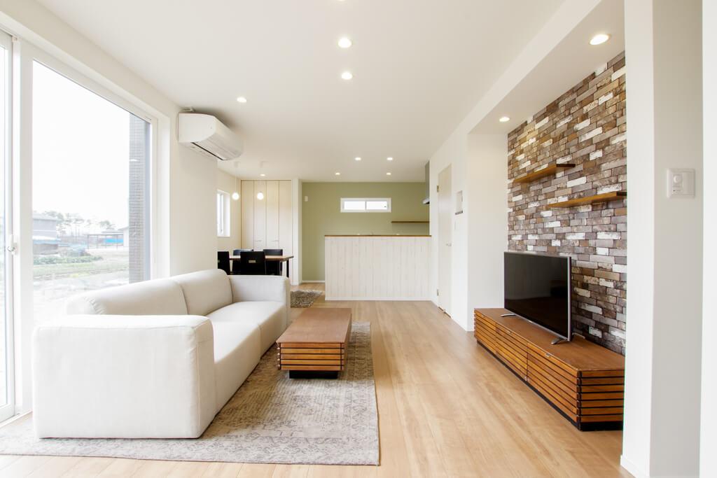 ハーバーハウスの新築 家づくり 事例「家族の暮らしを考えた、すっきり回遊動線のお家」
