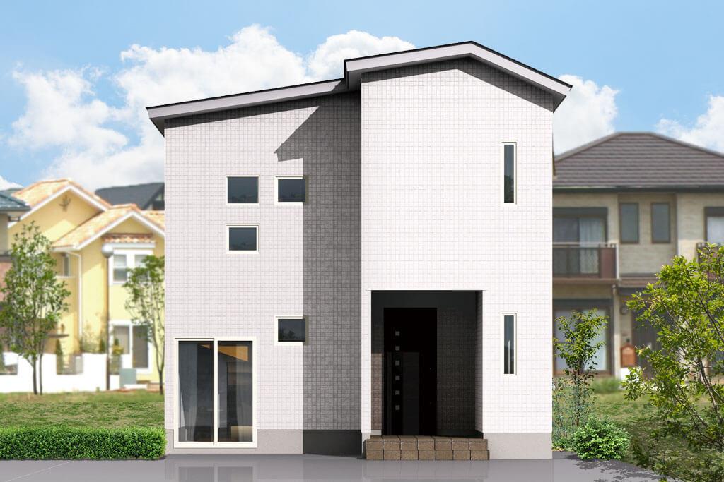 ハーバーハウスの新築 家づくり 事例「ペールトーンでコーディネートした床暖房のある家」