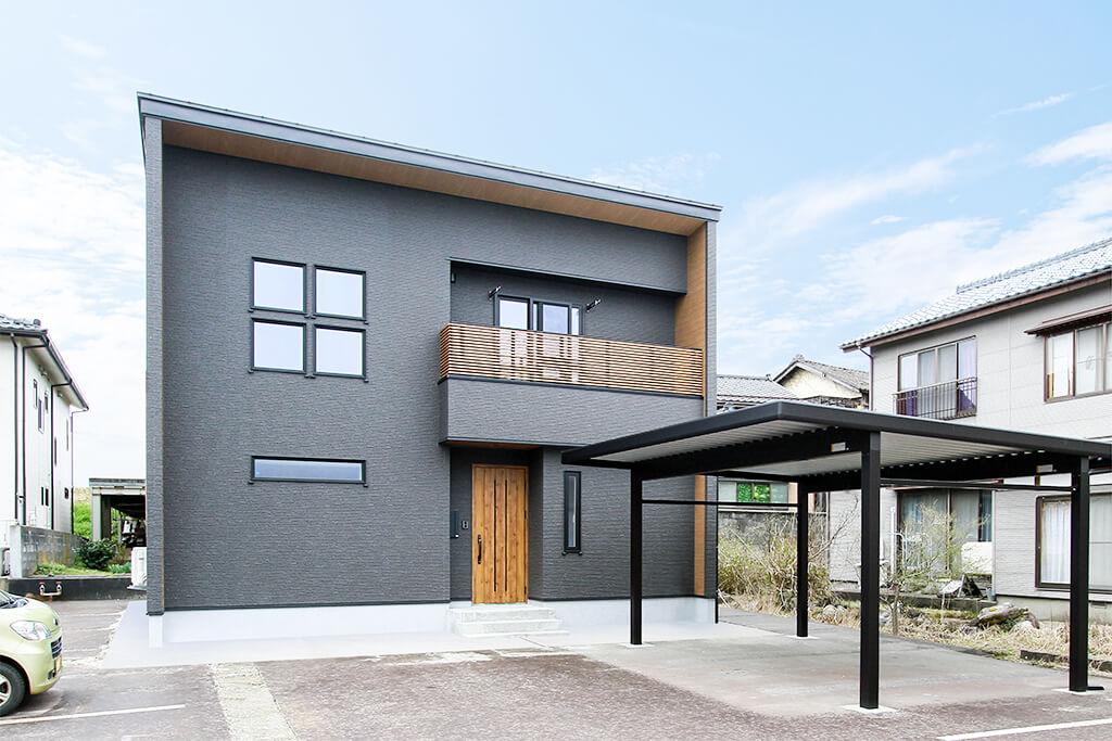 ハーバーハウスの新築 家づくり 事例「ヴィンテージスタイルの大空間LDKの家」