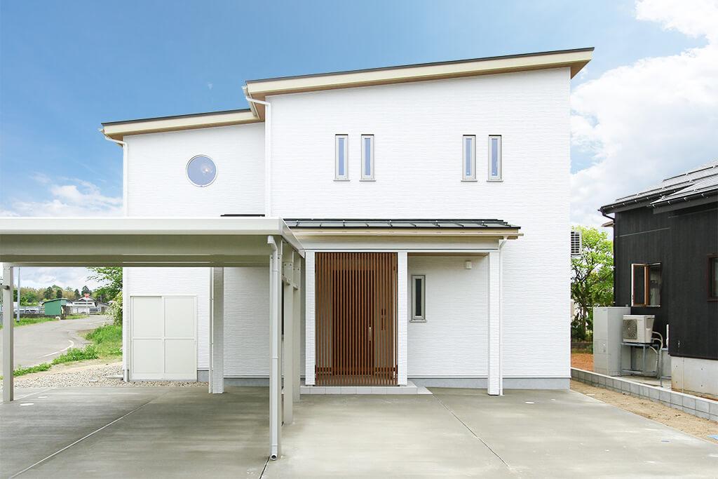 ハーバーハウスの新築 家づくり 事例「和を感じるウッドデッキのある家」