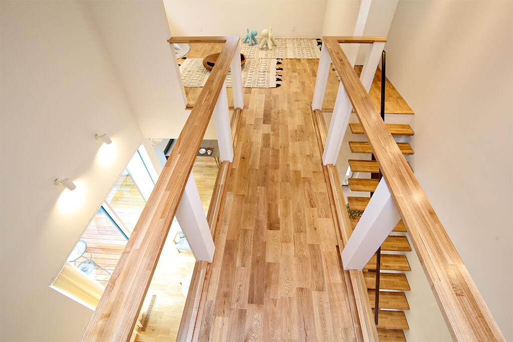 ハーバーハウスの新築 家づくり 事例「開放感とプライバシーを両立させたスタイリッシュコートハウス」