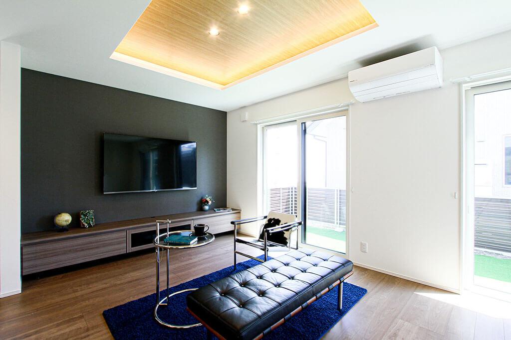 ハーバーハウスの新築 家づくり 事例「オリジナリティーな造作家具!家事ラク・収納充実な家」(IZU)