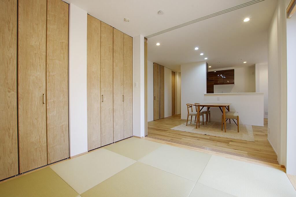 ハーバーハウスの新築 家づくり 事例「MIRAI 最新のIoT搭載!ウッドデッキのある分離型二世帯住宅」
