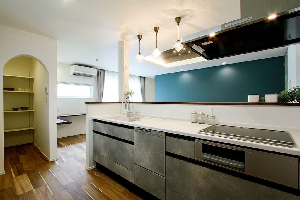 ハーバーハウスの新築 家づくり 事例「ドッグランとつながる大開口リビングの家」